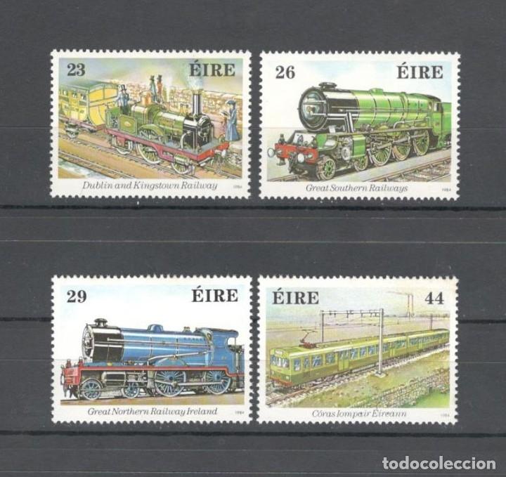 IRLANDA 1984 - SCOTT 581/584 HB. 150 ANIV FERROCARRILES IRLANDESES - MNH (Sellos - Extranjero - Europa - Irlanda)