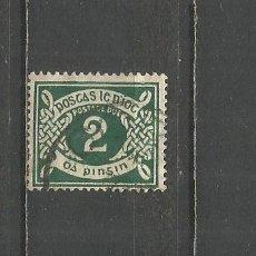 Sellos: IRLANDA TAXE IMPUESTOS YVERT NUM. 8 USADO. Lote 179012236