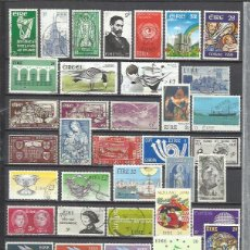 Sellos: R81-LOTE SELLOS DE ESTADO DE IRLANDA,SIN TASAR,SIN REPETIDOS.ANTIGUOS Y MODERNOS.2 O 3 SELLOS YA VAL. Lote 179539118