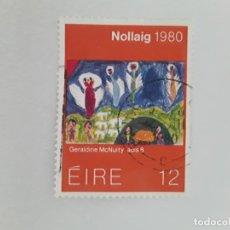 Sellos: IRLANDA SELLO USADO. Lote 180220182