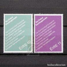 Sellos: IRLANDA 1979 ~ ELECCIONES AL PARLAMENTE EUROPEO ~ SERIE NUEVA MNH LUJO. Lote 180344783