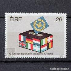 Sellos: IRLANDA 1984 ~ ELECCIONES AL PARLAMENTE EUROPEO ~ SELLO NUEVO MNH LUJO. Lote 180344903