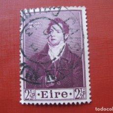 Sellos: -IRLANDA 1952, THOMAS MOORE, YVERT 116. Lote 185910137
