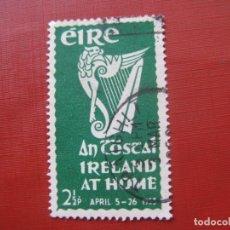 Sellos: -IRLANDA 1953, YVERT 118. Lote 185910296