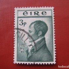 Sellos: -IRLANDA 1953, ROBERT EMMET, YVERT 120. Lote 185910465