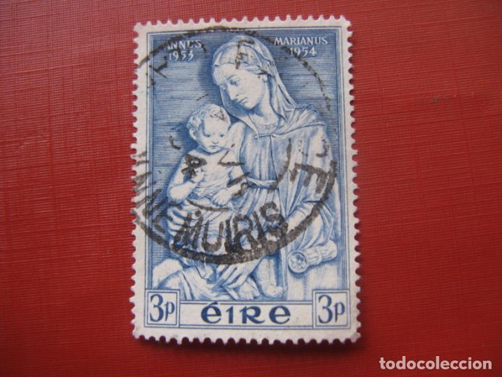 -IRLANDA 1954, AÑO MARIANO, YVERT 122 (Sellos - Extranjero - Europa - Irlanda)