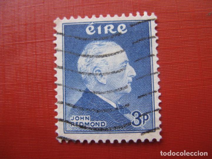 -IRLANDA 1957, JOHN REDMOND, YVERT 128 (Sellos - Extranjero - Europa - Irlanda)