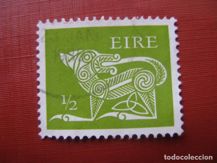 -IRLANDA 1971, DRAGON, YVERT 252 (Sellos - Extranjero - Europa - Irlanda)