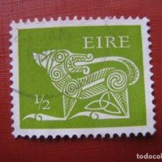Sellos: -IRLANDA 1971, DRAGON, YVERT 252. Lote 185911718