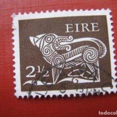 Sellos: -IRLANDA 1971, DRAGON, YVERT 256. Lote 185911855