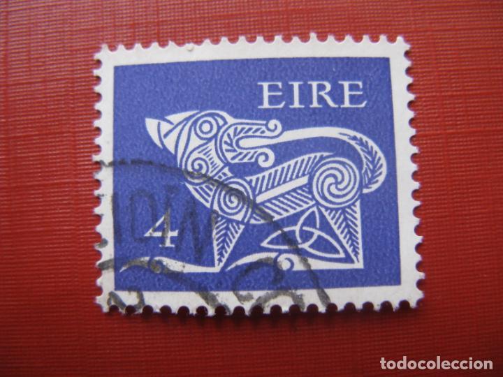 -IRLANDA 1971, DRAGON, YVERT 259 (Sellos - Extranjero - Europa - Irlanda)