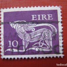 Sellos: -IRLANDA, DRAGON, SELLO USADO. Lote 185912508