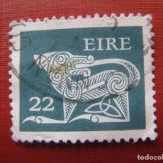 Sellos: -IRLANDA, DRAGON, SELLO USADO. Lote 185912637