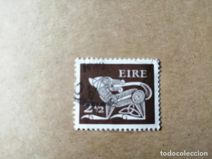 IRLANDA - EIRE - VALOR FACIAL 2 1/2 - SERIE BÁSICA - YV 256 (Sellos - Extranjero - Europa - Irlanda)