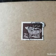 Sellos: IRLANDA - EIRE - VALOR FACIAL 2 1/2 - SERIE BÁSICA - YV 256. Lote 192367698