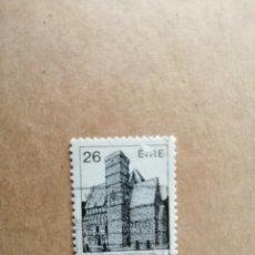 Sellos: IRLANDA - EIRE - VALOR FACIAL 26 - AÑO 1983 - MONUMENTOS - ARQUITECTURA IRLANDESA - YV 499. Lote 192369402