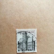 Sellos: IRLANDA - EIRE - VALOR FACIAL 26 - AÑO 1983 - MONUMENTOS - ARQUITECTURA IRLANDESA - YV 499. Lote 192369522