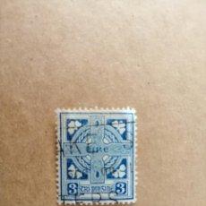Sellos: IRLANDA - EIRE - VALOR FACIAL 3 - AÑO 1941-44 - YV 83. Lote 192370458