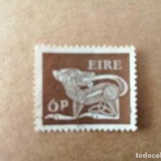 Sellos: IRLANDA - EIRE - VALOR FACIAL 6P - AÑO 1969 - ANIMALES CELTAS - PERRO. Lote 192397411