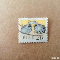 Sellos: IRLANDA - EIRE - VALOR FACIAL 20 - AÑO 1991 - ARTESANIA - TESOROS DE IRLANDA - YV 745. Lote 192397537