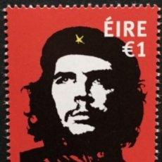 Sellos: IRLANDA 2017 50° ANIV. ASSASSINIO DI ERNESTO CHE GUEVARA. Lote 192491496