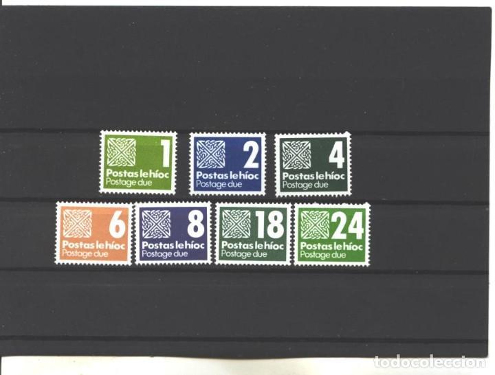 IRLANDA 1980 - YVERT NRO. 25-31 TASA - NUEVOS (Sellos - Extranjero - Europa - Irlanda)