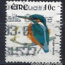 Sellos: IRLANDA 1997 - FAUNA,MARTÍN PESCADOR - SELLO USADO . Lote 198521410