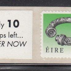 Sellos: IRLANDA 1990 - BRAZALETE - YVERT Nº 707** ADHESIVO . Lote 198714907