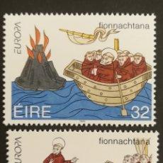 Sellos: IRLANDA SH. EUROPA Y LOS DESCUBRIMIENTOS 1994, MNH (FOTOGRAFÍA REAL). Lote 203340317