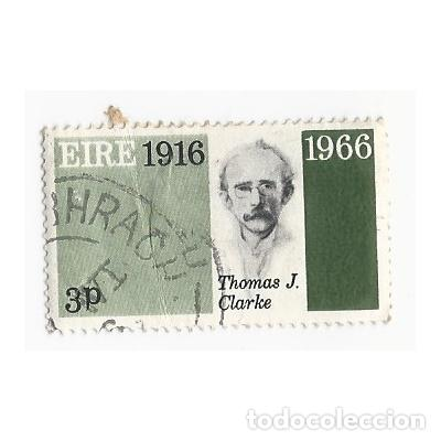 SELLO IRLANDA EIRE 1916 1966 THOMAS J. CLARKE 3 P (Sellos - Extranjero - Europa - Irlanda)