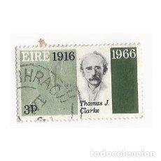 Sellos: SELLO IRLANDA EIRE 1916 1966 THOMAS J. CLARKE 3 P. Lote 206512857