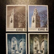 Sellos: IRLANDA YVERT 329/32 SERIE COMPLETA NUEVA ***. ARQUITECTURA. Lote 206924400