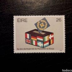 Sellos: IRLANDA YVERT 543 SERIE COMPLETA NUEVA ***. ELECCIONES EUROPEAS. BANDERAS. Lote 206927862