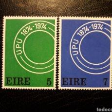 Timbres: IRLANDA YVERT 311/2 SERIE COMPLETA NUEVA CON CHARNELA. UPU. UNIÓN POSTAL UNIVERSAL. Lote 206928177