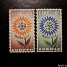 Sellos: IRLANDA YVERT 167/8 SERIE COMPLETA USADA. EUROPA CEPT. Lote 206951858