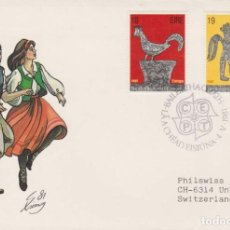 Timbres: IRLANDA AÑO 1981 FDC SPD BEALOIDEAS NA HEIREANN. Lote 210014045