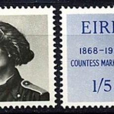 Sellos: IRLANDA 1968 - CONDESA MARKIEVICZ - YVERT Nº 209/210**. Lote 210125727