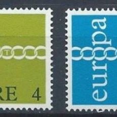 Sellos: IRLANDA 1971 - EUROPA CEPT - YVERT Nº 267/268**. Lote 210126595