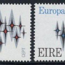 Sellos: IRLANDA 1972 - EUROPA CEPT - YVERT Nº 278/279**. Lote 210127561