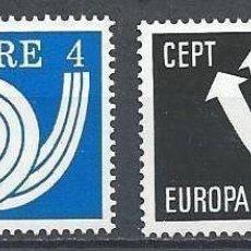 Sellos: IRLANDA 1973 - EUROPA CEPT - YVERT Nº 291/292**. Lote 210128130