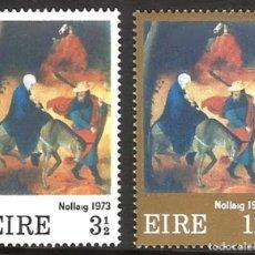 Sellos: IRLANDA 1973 - NAVIDAD - YVERT Nº 298/299**. Lote 210128630