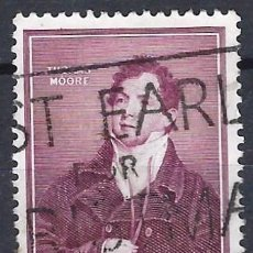 Sellos: IRLANDA 1952 - CENTENARIO DE LA MUERTE DEL POETA THOMAS MOORE 1779-1852 - USADO. Lote 216413898