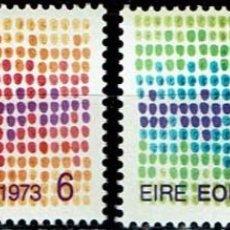 Sellos: IRLANDA 1973 - ENTRADA IRLANDA EN EL MERCADO COMÚN EUROPEO. Lote 217248867