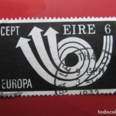 Sellos: IRLANDA, 1973, EUROPA, YVERT 292. Lote 222152873