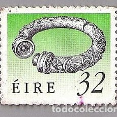 Sellos: BROIGHTER COLLAR (SIGLO I A.C.), IRLANDA DEL NORTE/32P. IRISH POSTAGE STAMP - ÉIRE, ULSTER, 1991. Lote 136243190
