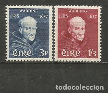 IRLANDA YVERT NUM. 134/135 ** SERIE COMPLETA SIN FIJASELLOS (Sellos - Extranjero - Europa - Irlanda)