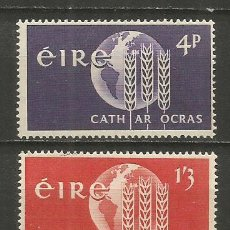 Timbres: IRLANDA YVERT NUM. 157/158 ** SERIE COMPLETA SIN FIJASELLOS. Lote 223378153