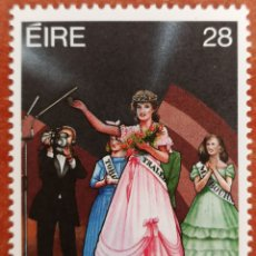 Sellos: IRLANDA N°633 MNH**FESTIVALES IRLANDESES 1987(FOTOGRAFÍA REAL). Lote 225134672