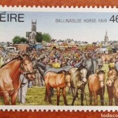 Sellos: IRLANDA N°635 MNH**FESTIVALES IRLANDES 1987 (FOTOGRAFÍA REAL). Lote 225138251