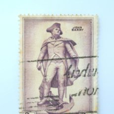 Sellos: SELLO POSTAL IRLANDA 1956 , 3 P , JOHN BARRY, USADO. Lote 233543190